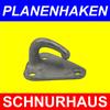 """Dreiloch Planenhaken 55 x 45mm """"gross"""" Metall feuerverzinkt 1 Stück"""