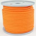 5mm PP 400daN Reepschnur 100m orange Schnur Seil ( orange cord, rope )