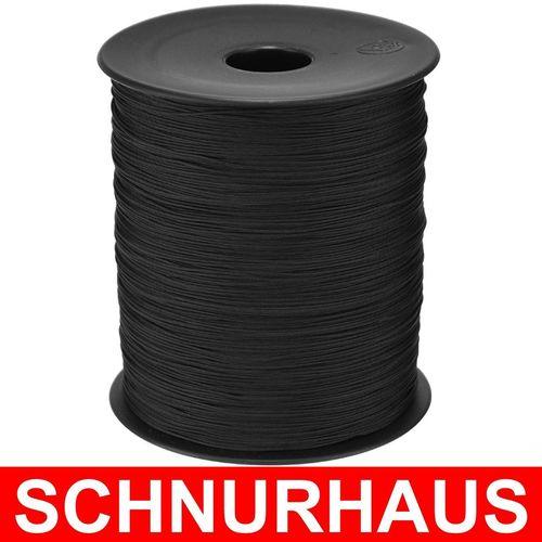 Polyesterseil Polyester Seil 3mm 500m Schwarz Geflochten PES Tauwerk Leine