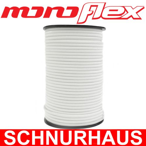 100m Expanderseil weiß Gummiseil 10mm Anhängernetz Monoflex PP