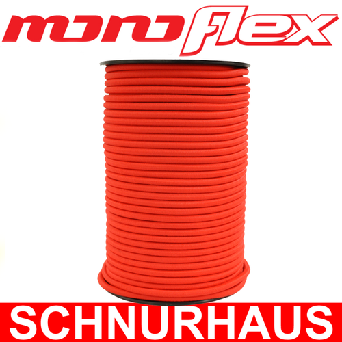 10 Monoflex Gummiseil ø 6mm grau Expanderseile