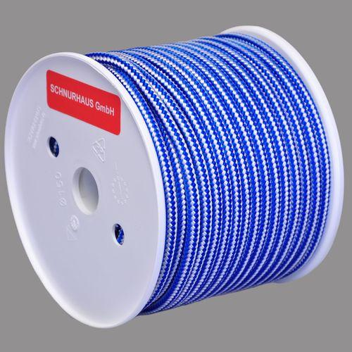 4mm PP-Schnur 50m  blau Polypropylenseil Seil Reepschnur Tauwerk blue cord rope