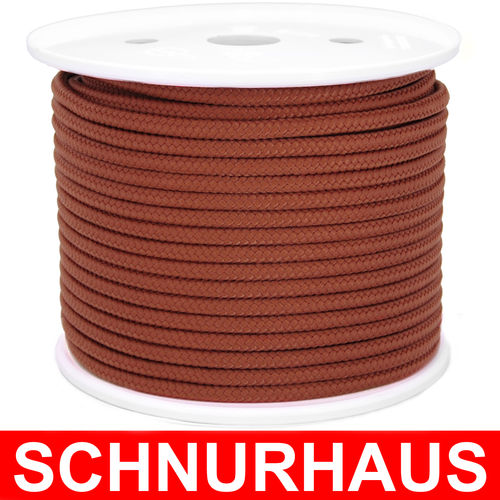 8mm PP 760daN PP-Schnur hellbraun Seil Polypropylen ( light brown cord, rope )