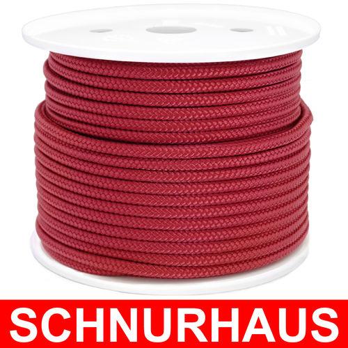 5mm PP 400daN PP-Schnur weinrot Seil Polypropylen ( wine red cord, rope )