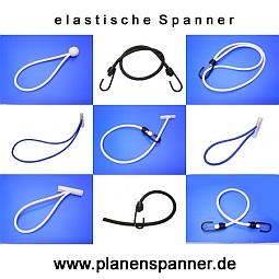 Spanngummi Expander mit Haken /Ø 4 mm Weiss 10 St/ück Spannfix Planenspanner 18 cm 10 St/ück, Weiss